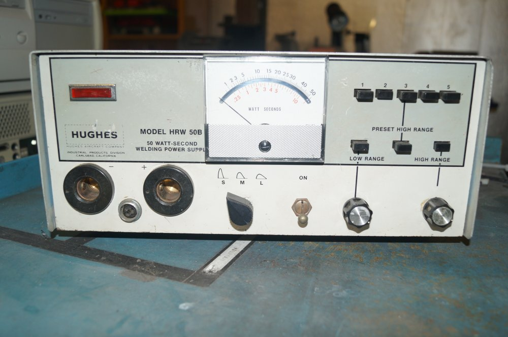 Hughes  HRW-50B  Welder Power Supply