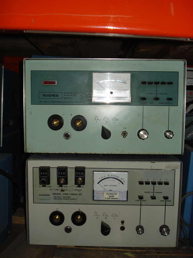 Hughes  HRW-100B  Welder Power Supply