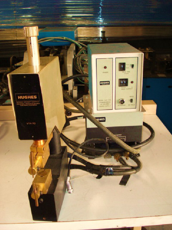 Hughes  HAC-230  Welder Power Supply and VTA 70 Head