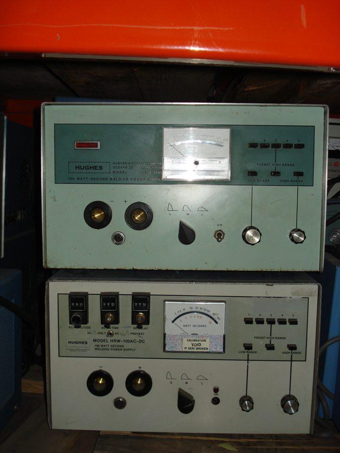 13731-HUGHES HRW-100B Welding Power Supply