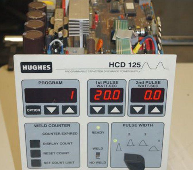 14651-HUGHES-HCD125-WELDING-POWER-SUPPLY