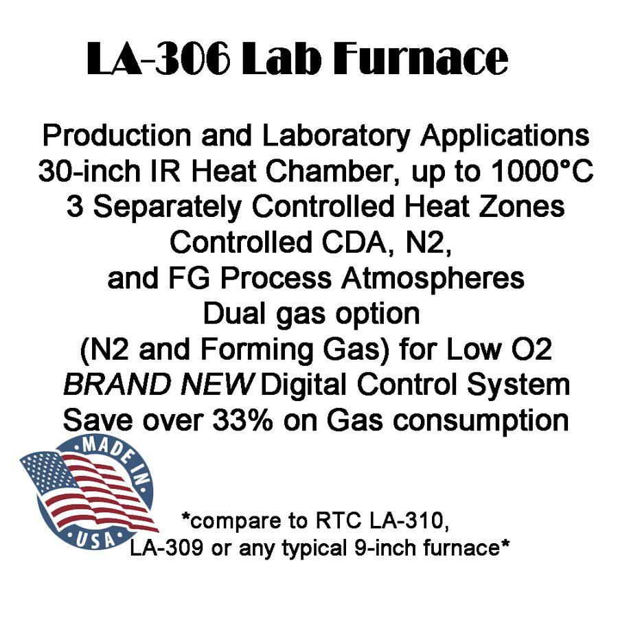 LA-306 LAB IR LAB FURNACE