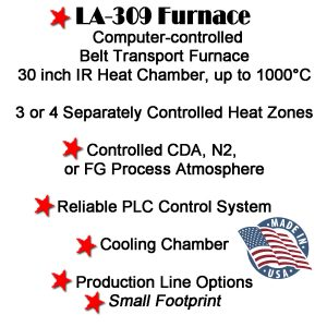 LA-309 Furnace-IR BELT FURNACE