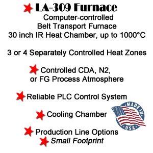 LA-309 Furnace-IR BELT FURNACE