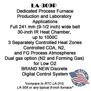 LA309P-Dedicated Process IR Furnace