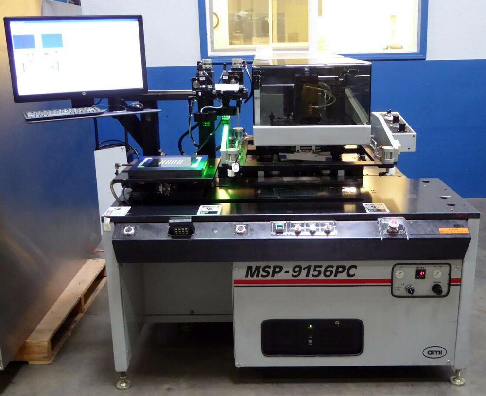 AMI Presco HMI MSP-9156PC Screen Printer