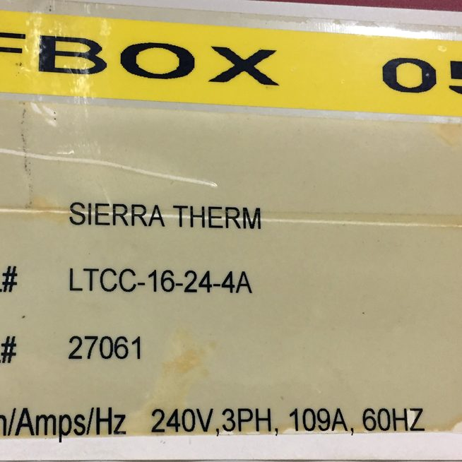 SIERRATHERM-LTCC-BATCH-Furnace