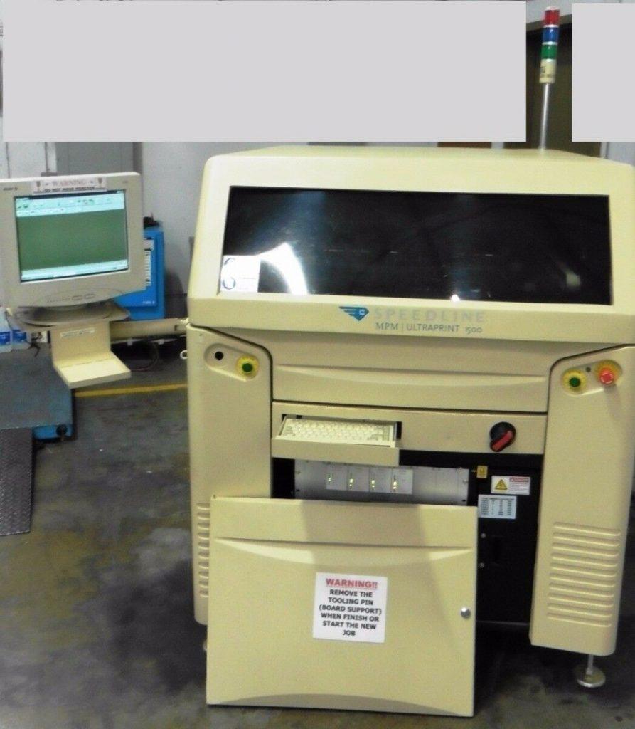 MPM – Cookson Ultraprint 1500 Screen Printer