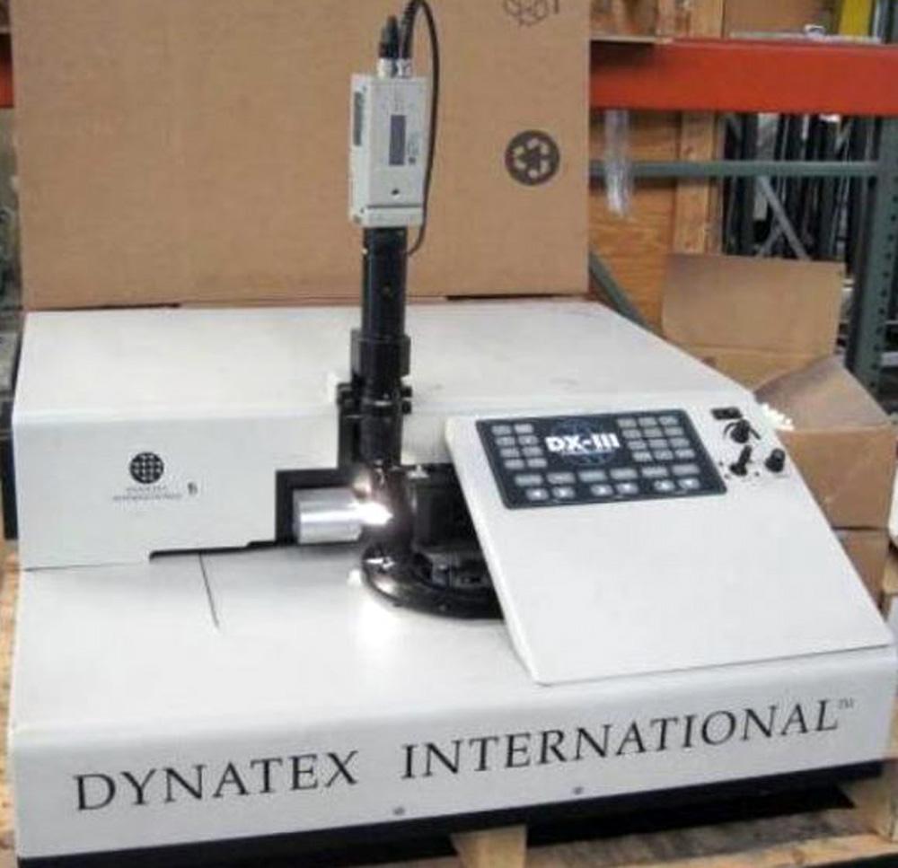 WAFER SCRIBER – Dynatex DX-III Wafer Scriber – Breaker