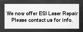 esi laser repair