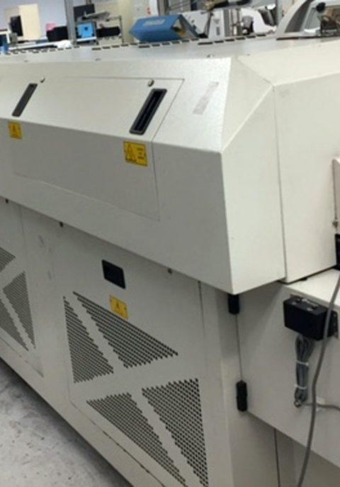 BTU PYRAMAX Reflow Oven Edge Rail 18 inch belt